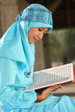 Moslemisches Mädchen Stockfotos