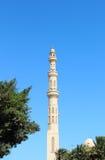 Moslemisches Moscheenminarett Lizenzfreies Stockfoto