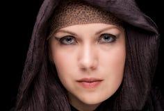 Moslemisches schönes Mädchen Stockbild