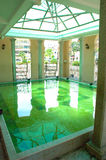 Moslemisches Tempel-Wäsche-Pool Stockfotografie