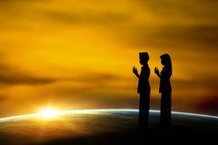 Moslems boy1 Lizenzfreies Stockfoto