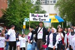 Moslems für die Heilung Stockfotos
