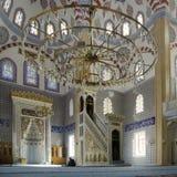 Moslems finden Frieden, indem sie den Quran an der Moschee lesen Lizenzfreie Stockbilder