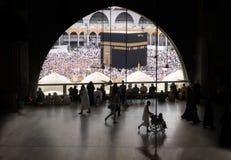 Moslems traten im Mekka der Welt-` s verschiedenen Länder zusammen Stockfotografie