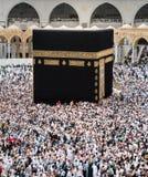 Moslems traten im Mekka der Welt-` s verschiedenen Länder zusammen Lizenzfreie Stockfotos