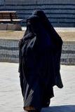 Moslems verschleierte Frau Stockbilder