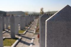 Moslim begraafplaats Royalty-vrije Stock Afbeelding