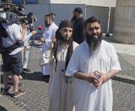 Moslim Fundamentalisten Stock Fotografie