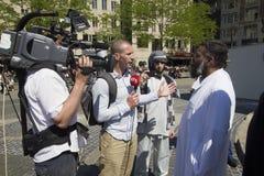 Moslim Fundamentalisten Stock Afbeelding