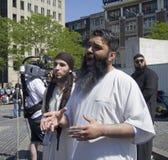 Moslim Fundamentalisten Royalty-vrije Stock Afbeeldingen