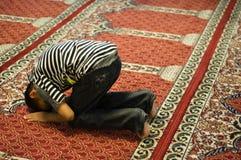 Moslim Gebed Royalty-vrije Stock Foto's