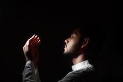 Moslim gebed Stock Afbeeldingen