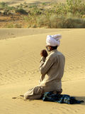 Moslim gebed Royalty-vrije Stock Foto