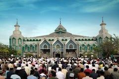 Moslim gebeden Royalty-vrije Stock Afbeelding