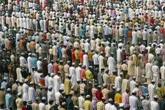 Moslim Gebeden Stock Afbeelding