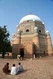 Moslim heiligdom Stock Foto