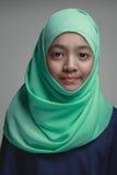 Moslim jong meisje, royalty-vrije stock foto