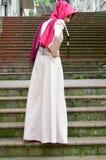 Moslim jonge vrouw Stock Foto