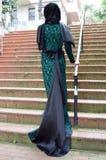 Moslim jonge vrouw Stock Afbeeldingen