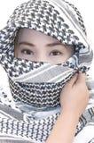 Moslim meisje Royalty-vrije Stock Foto's