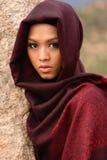 Moslim Meisje Royalty-vrije Stock Afbeeldingen