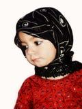 Moslim Meisje met Sjaal Royalty-vrije Stock Foto's