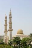 Moslim moskee, Sharjah, Verenigde Arabische Emiraten Stock Foto's