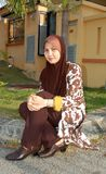 Moslim vrouw Royalty-vrije Stock Foto
