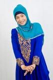 Moslim vrouwen stock foto