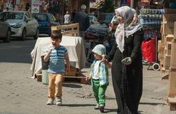 Moslimfamilie Royalty-vrije Stock Afbeeldingen