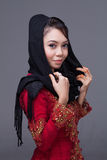 Moslimmeisje Stock Afbeeldingen