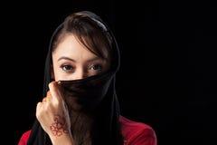 Moslimmeisje Royalty-vrije Stock Afbeelding