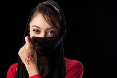 Moslimmeisje Royalty-vrije Stock Foto's