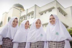 Moslimstudenten Stock Fotografie