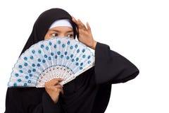 Moslimvrouw Stock Afbeeldingen