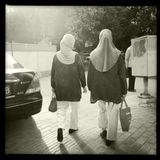 Moslimvrouwen Royalty-vrije Stock Afbeeldingen