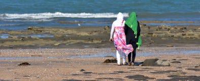 Moslimvrouwen Stock Afbeeldingen