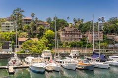 Mosman Bay in Sydney Royalty Free Stock Photography