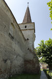 Mosna fortified church Royalty Free Stock Photo