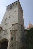 Mosna fortified church Royalty Free Stock Photography