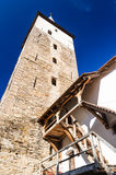 Mosna fortified church, Transylvania Stock Image