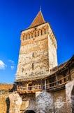 Mosna fortified church, Transylvania Stock Photo