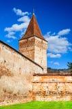 Mosna fortified church, Transylvania, Romania Royalty Free Stock Photos