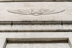 Mosoleum Eqyptian style Stock Photos