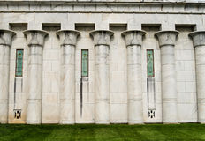 Mosoleum Eqyptian style Royalty Free Stock Photos