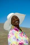 Mosotho Dame bei Arbeit 2 Lizenzfreies Stockfoto