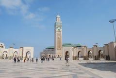 Mosquée à Casablanca Images libres de droits