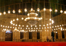 Mosquée à l'intérieur Images stock