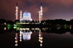 Mosquée 2 de Shah Alam Photo stock
