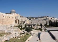 Mosquée 2008 de Jérusalem Al-Aqsa Photos stock